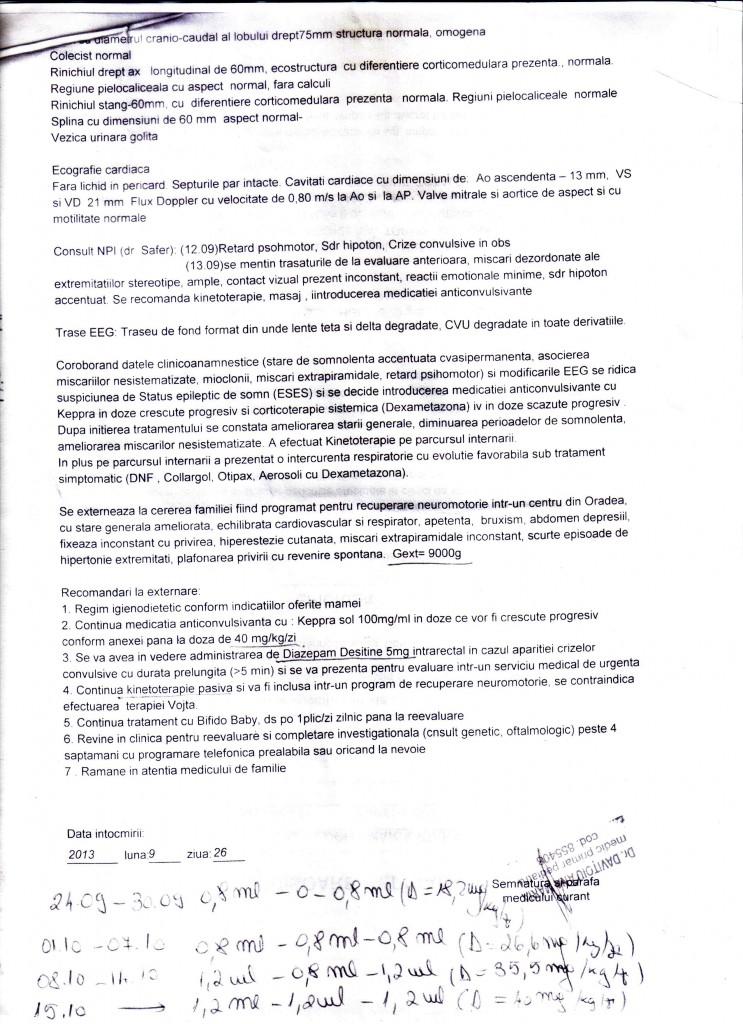 Scrisoare medicala sept. 2013