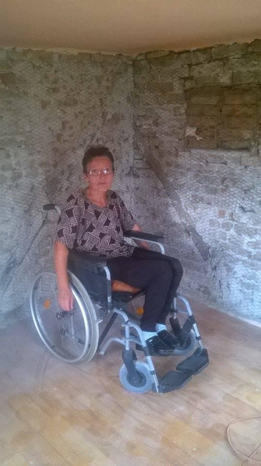 UPDATE/ Maria Gadescu, o femeie paralizata ce o ingrijeste pe mama sa bolnava, are nevoie de ajutorul nostru!