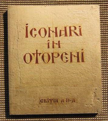 ICONARI IN OTOPENI – editia a doua – Lansare de carte la LIBRARIA BIZANTINA