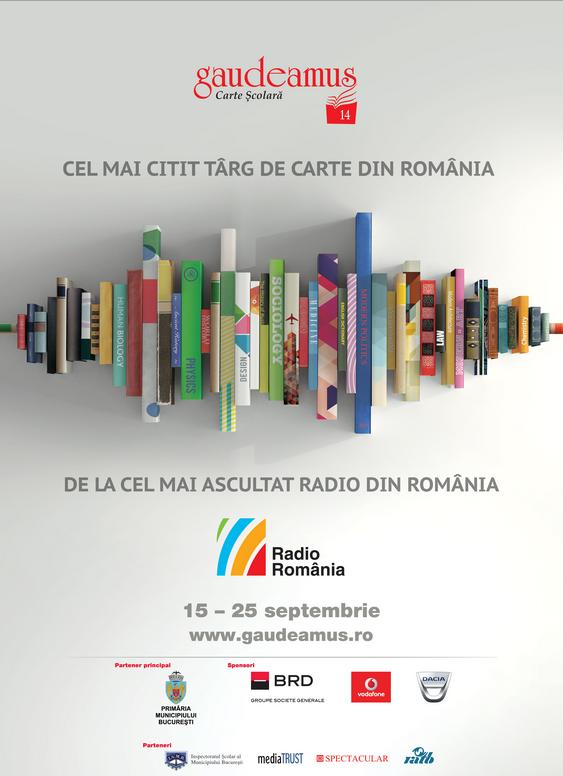 EDITURA SOPHIA la Târgul Internațional GAUDEAMUS (16-20 noiembrie)