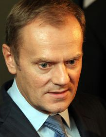 premierul polonez Daniel Tusk