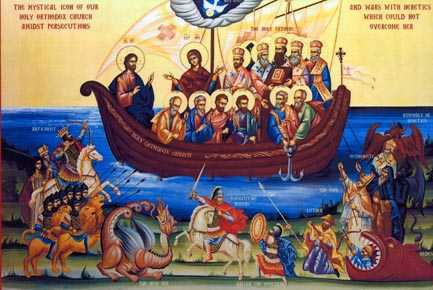 corabia bisericii