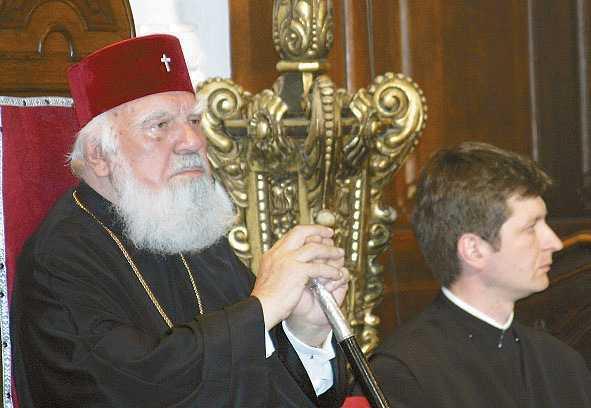 """S-A FACUT PUBLIC TESTAMENTUL INALTULUI BARTOLOMEU. <i>""""La carma Mitropoliei imi doresc un urmas demn, credincios Bisericii Ortodoxe, integru, adversar al coruptiei de orice fel…""""</i>"""
