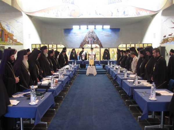 """Intalnire pregatitoare a """"Sfantului si Marelui"""" Sinod"""