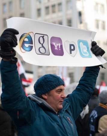 <i>Google manipuleaza energiile umane</i>. Oficial rus despre revolutia din Egipt