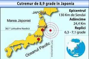 Cutremur 8,9 grade in Japonia