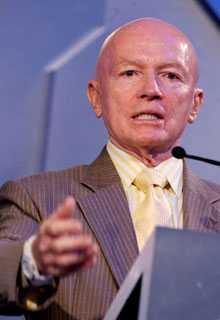 "Alt ""profet"" al crizei: Presedintele Templeton Mark Mobius crede ca o noua criza financiara este iminenta"