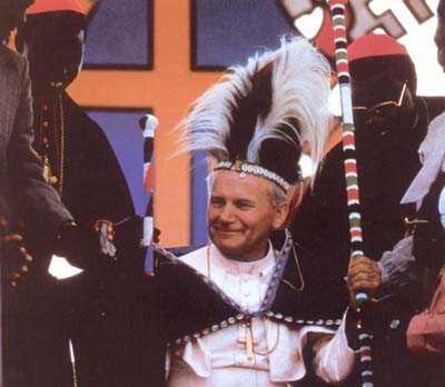 """""""BEATIFICAREA"""" SINCRETISMULUI ANTIHRISTIC. Vaticanul a beatificat astazi pe papa Ioan Paul al II-lea, un """"PAPA MONDIAL"""", iubit de toti globalistii si de liderii U.E."""