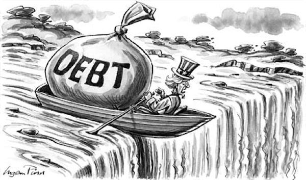 O NOUA CRIZA DECLANSATA DE SUA? Presedintele Obama preseaza pentru depasirea limitelor legale ale deficitelor bugetare. Altfel, SUA risca sa intre in incapacitate de plata…