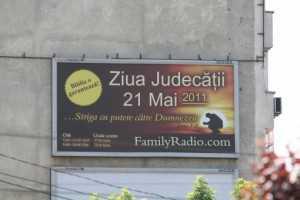 Ziua judecatii, 21 mai 2011 ?!