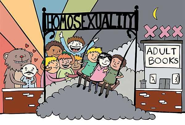 "HOMOSEXUALITATEA PE CALE DE A INTRA IN PROGRAMELE SCOLARE… din California, deocamdata. Ca sa ofere copiilor ""modele la care sa aspire""!"
