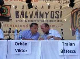 """Declaratii provocatoare ale oficialilor unguri la Universitatea de Vara Baile Tusnad: <b><i>""""AVEM NEVOIE DE UNIFICAREA NATIUNII MAGHIARE""""</b></i> si <i>""""TINUTUL SECUIESC AR INTARI SUVERANITATEA ROMANEASCA""""</i>"""