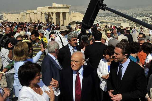 Presedintele Greciei, Carolos Papoulias
