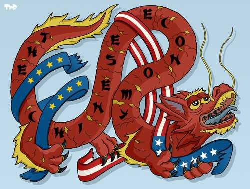 SE PRABUSESTE CHINA? Ce se ascunde in spatele gigantului cu picioare de lut si pana cand alianta cu Rusia?