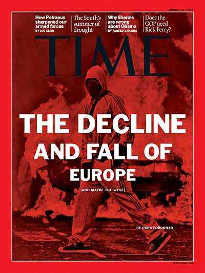 """<i>""""SFARSITUL DEMOCRATIEI, AL EUROPEI SI AL SUA?""""</i> Suntem pregatiti tot mai intens cu mesaje despre sfarsitul ordinii actuale a lumii prin criza economica, haosul revoltelor si razboiul mondial"""
