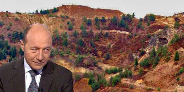 """ROSIA MONTANA SI NU NUMAI: Basescu ordona guvernului sa deschida rapid exploatarile de metale, vanturand iluzia ticaloasa a """"locurilor de munca"""""""