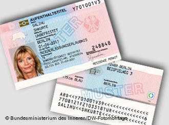 CARD ELECTRONIC CU CIP: noua forma a permisului de sedere si munca pentru imigranti in Germania