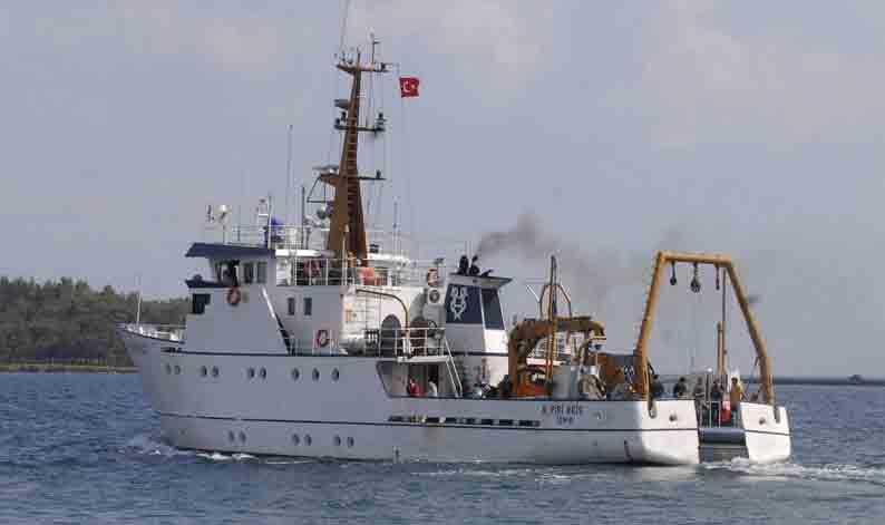 Turcia a trimis o nava de prospectii in zona disputata cu Cipru