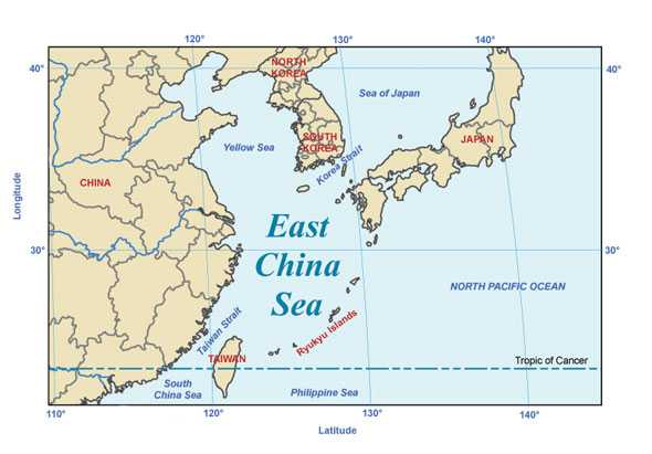 "CHINA AMENINTA cu ""lovituri de tun"" tarile care ii pericliteaza interesele din MAREA CHINEI"