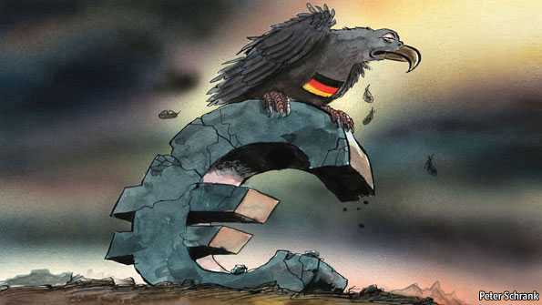 Germania in risc de faliment, ratingul Italiei a fost scazut, Grecia sub presiune, FMI promite recesiune, eurocratii DECID: RECAPITALIZEAZA BANCILE