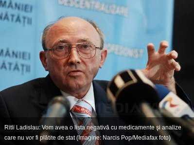 Ministerul Sanatatii elaboreaza LISTA NEAGRA A MEDICAMENTELOR SI ANALIZELOR MEDICALE. Exodul medicilor continua…