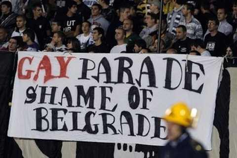 Belgrad impotriva paradei homosexualitatii