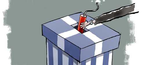 GRECIA: Papandreou, inlocuit cu un fost lider grec al Bancii Centrale Europene? Alegeri anticipate, iesirea din euro si alte scenarii: TRUCAJ SAU CRIZA POLITICA REALA?