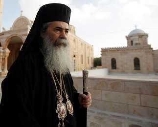 Scandal la Ierusalim: PATRIARHUL TEOFIL, ACUZAT DE PREDECESORUL SAU DE MITA