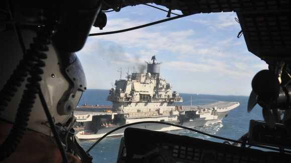 Rusia trimite nave de razboi in Siria