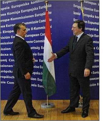Ungaria a primit ultimatum de la Barroso. BULGARIA NU VREA SA DEA BANI LA FMI, creste numarul contestatarilor ACORDULUI FISCAL