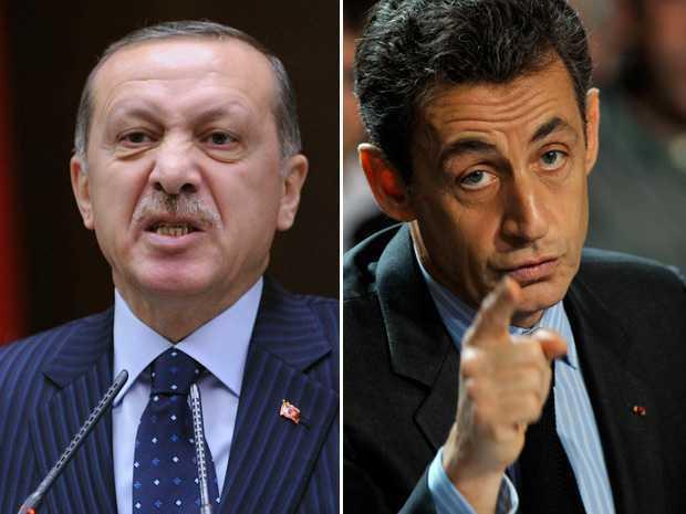 TURCIA SUSPENDA RELATIILE ECONOMICE SI POLITICE CU FRANTA. Erdogan ameninta cu masuri punitive, Franta coopereaza militar cu Cipru