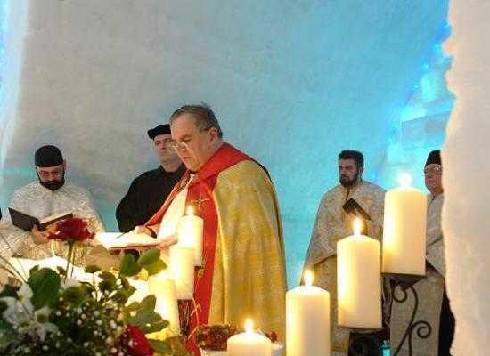 """IERURGIE ECUMENISTA LA """"BISERICA"""" DE GHEATA DE LA BALEA LAC. Se impune aplicarea deciziei Sfantului Sinod"""