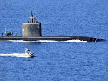 USS ANNAPOLIS VISITS GREECE