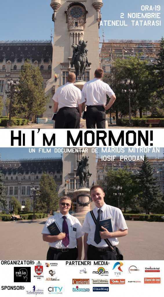 campania publicitara - Hi Im Mormon afis film