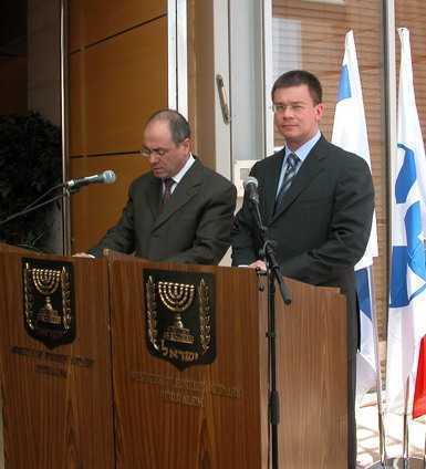 Mihai Razvan Ungureanu Shalom Israel