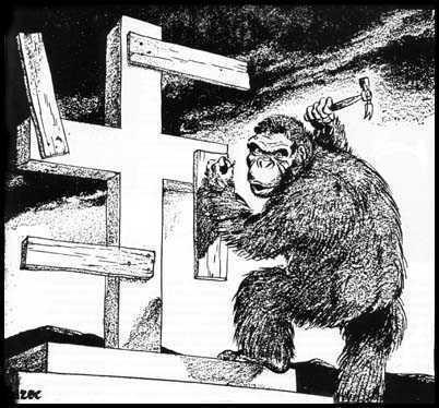 darwinism-anticrestinism=nazism