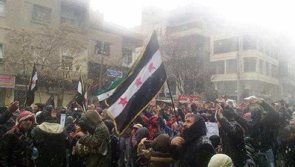 siria agitatii