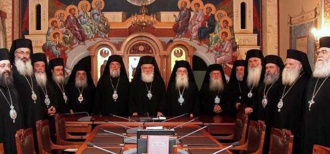Arhiepiscopul Ieronim in vizita la parintele Efrem/ POSIBILA ELIBERARE A STARETULUI