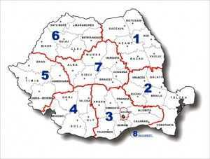 Premierul Ungureanu afirma, la ODORHEIUL SECUIESC, necesitatea REOGANIZARII ADMINISTRATIVE (varianta cu 8 JUDETE?)