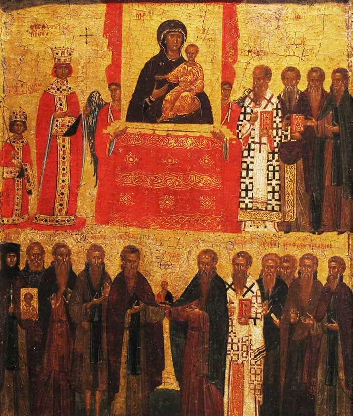 PASTORALA SFANTULUI SINOD (2012): Duminica Ortodoxiei este sarbatoarea biruintei adevarului revelat asupra schimonoselilor mincinoase ale ereziilor