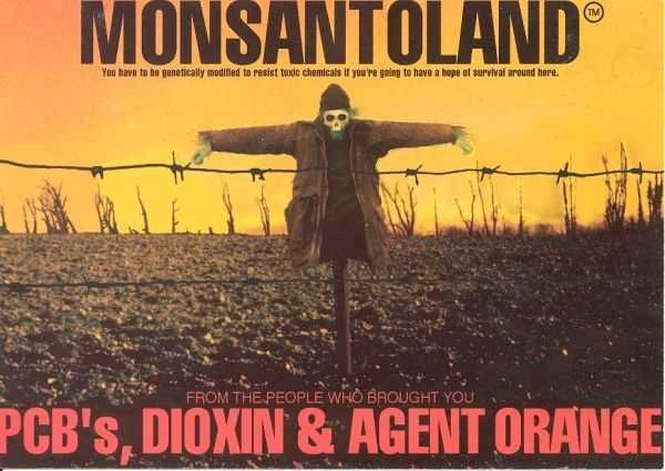 MONSANTO, gigantul OMG, pune in pericol biosfera pamantului prin IERBICIDUL nociv Roundup