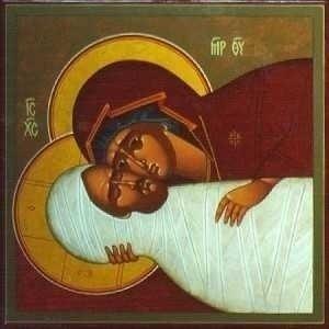 plangerea Maicii Domnului la ingroparea - prohodul - Domnului