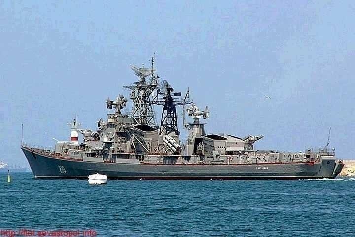 Rusia isi trimite o nava de razboi in portul Tartus (SIRIA)