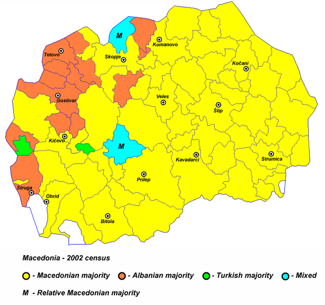 Macedonia, un nou scenariu kosovar?