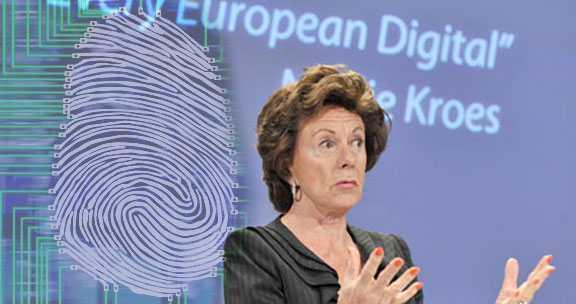 Comisarul European Neelie Kroes, promotor al DIRECTIVEI BIG BROTHER SI AL ACTELOR ELECTRONICE, MEMBRU AL BILDERBERG, <b>vrea sa ne faca tuturor din UE identitati electronice, virtuale</b> (video)