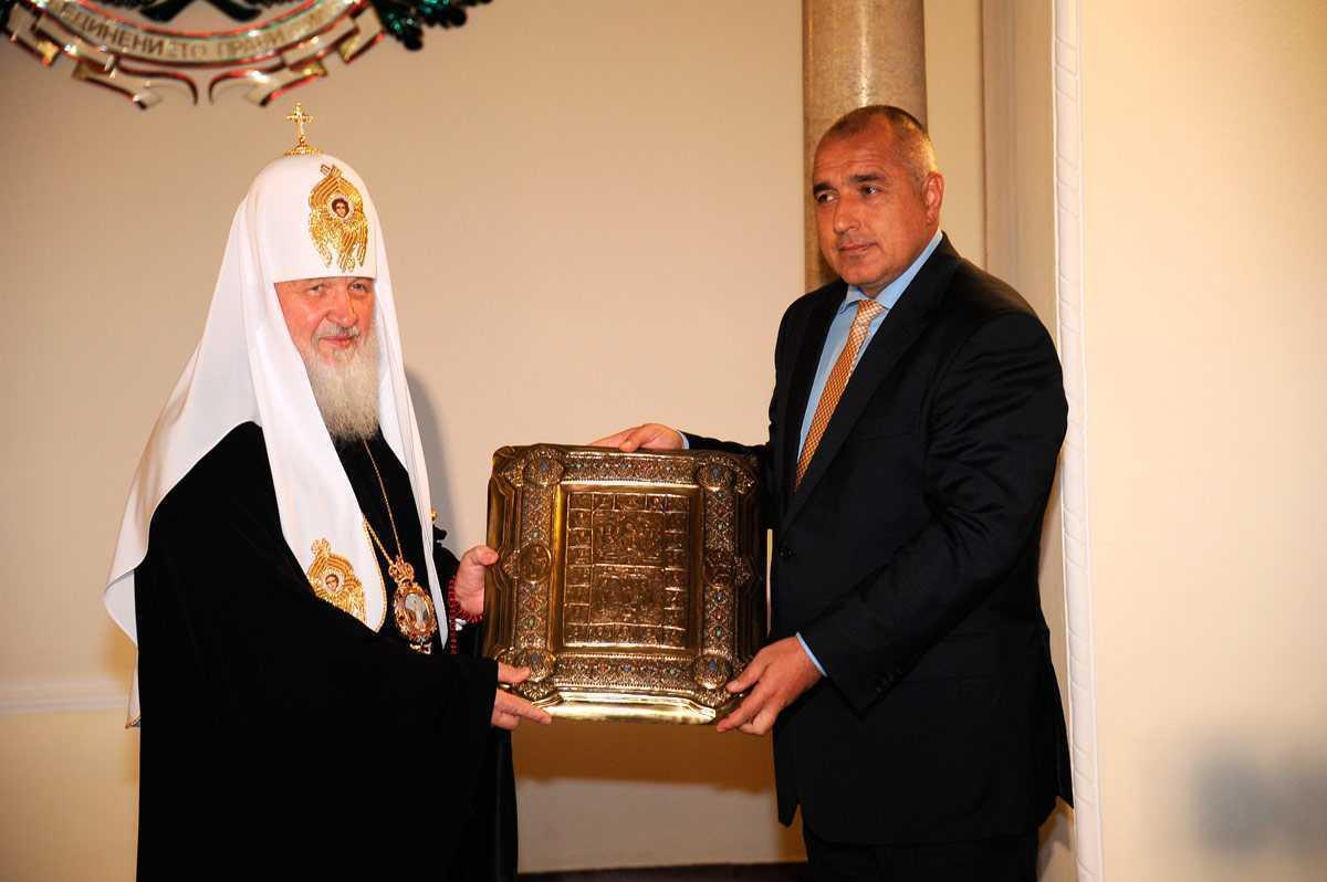 Patriarhul Kirill, aflat in vizita in Bulgaria, cere premierului Borisov sa-si fundamenteze politicile pe valorile crestin-ortodoxe