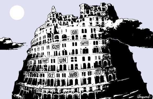 Clubul de la Roma: <i>FARA UN GUVERN GLOBAL OMENIREA VA DISPAREA</i>. Adunarea Generala a Clubului va avea loc in Bucuresti (octombrie 2012)