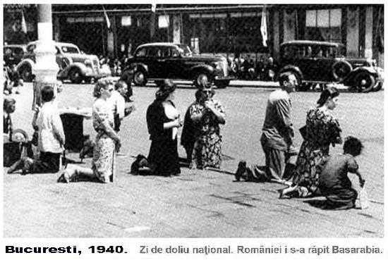 28 iunie 1940: CEDAREA BASARABIEI, BUCOVINEI SI TINUTULUI HERTEI URSS-ului IN URMA PACTULUI RIBBENTROP-MOLOTOV. Alianta Germania-Rusia-Ungaria-Bulgaria si sfasierea Romaniei Mari