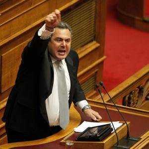 "Grecia inaintea alegerilor: Kammenos, liderul <i>""Grecilor Independenti""</i>, la ESFIGMENU-SCHISMATIC, un lider al SYRIZA propaga mesaje VIOLENT anti-crestine"