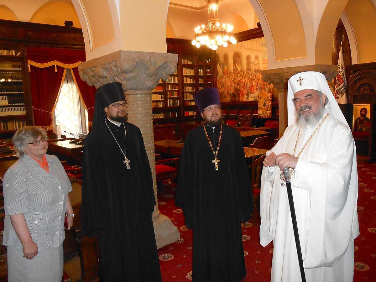 Patriarhul Daniel a primit vizita unei delegatii a Patriarhiei Moscovei. MAI MULTE NECLARITATI SI O POSIBILITATE – AGENDA COMUNA PENTRU SINODUL PANORTODOX?
